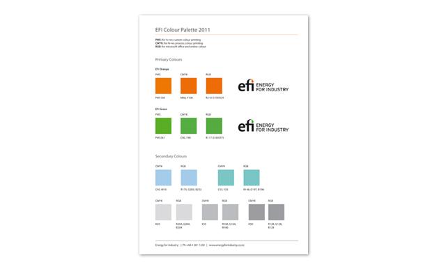 Efi Design Project Colour Pallette