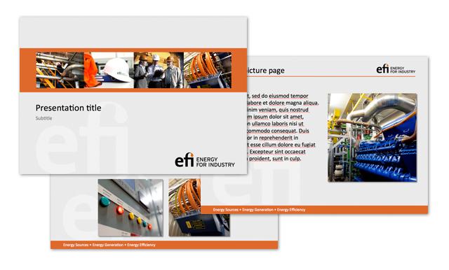 Efi Design Project Sales Presenter Template
