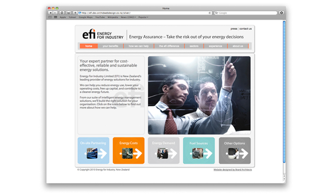 Efi Design Project Website Design